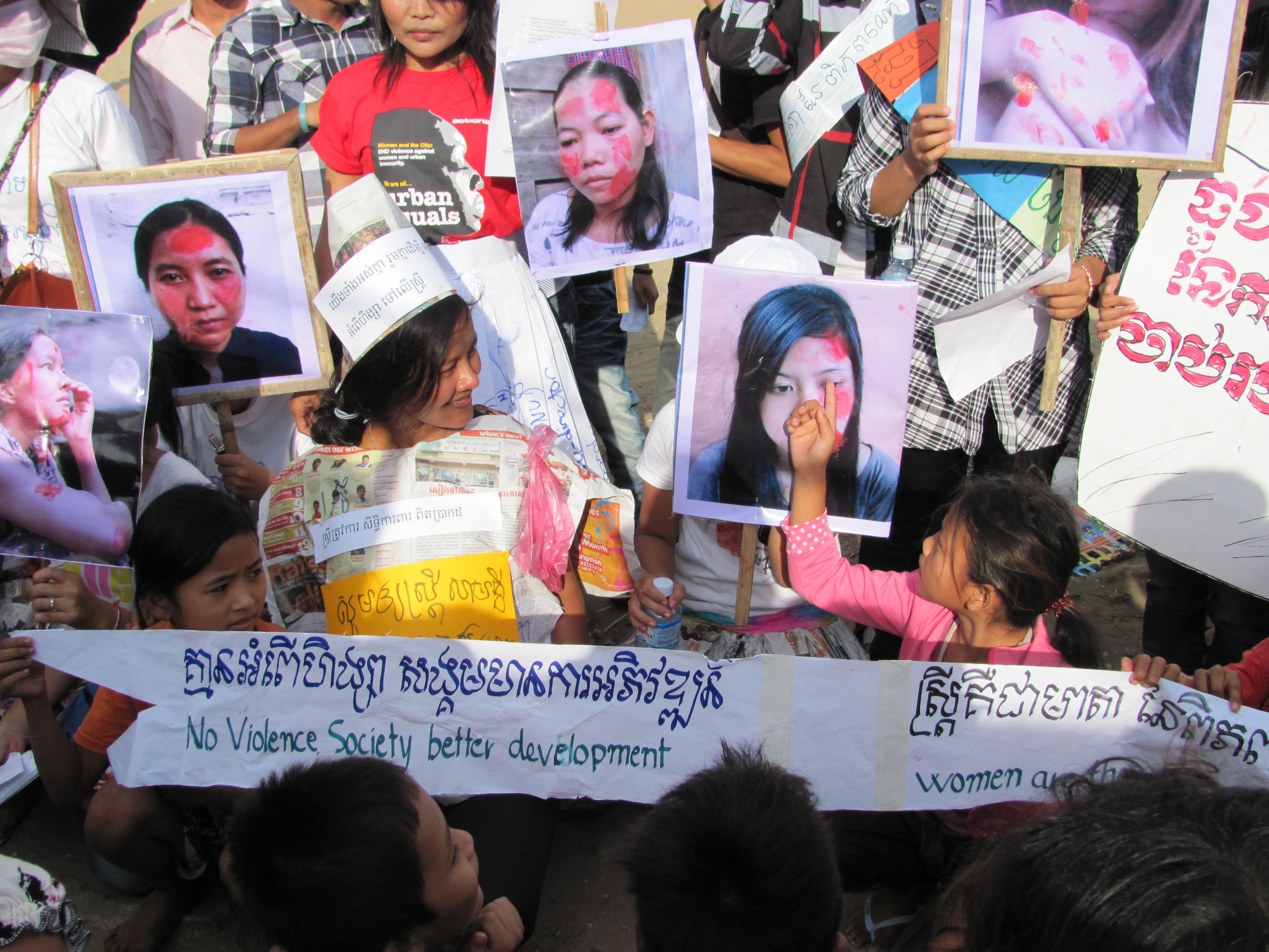 "domestic violent in cambodia society A global epidemic - domestic violence is a serious issue that negatively impacts women in our society ""domestic abuse is a violent confrontation between family."